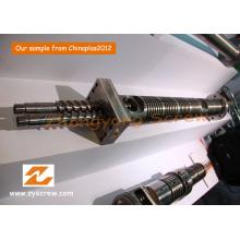 Parallel-Twin Schraube Barrel Doppelschnecke Fass PVC Granulierung Schraube Barrel