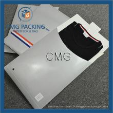 T-shirt Emballage Sac Papier Enveloppes pour vêtements