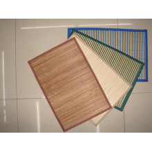 High Quality Cheap Handmade Natural Bamboo Rectangle Heat Insulation Placemat