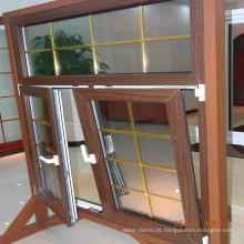 última janela projeta pvc inclinar e virar janela