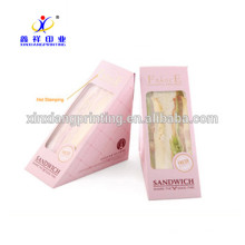 Customized Food Packaging with Clear Window Moon Cake Packaging Boxes