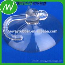 Taza fuerte de la asimiento del asimiento con el gancho plástico