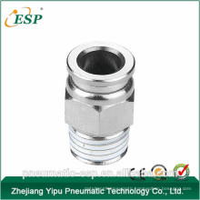 China pneumatic brass male straight fitting (MPC)