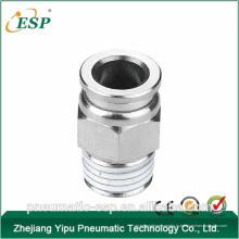 Китай пневматический латунь мужской прямой штуцер (ПДК)