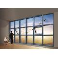 Novo design de parede de cortina de vidro sem moldura