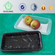 Boîte en plastique transparente de empaquetage alimentaire de catégorie de promotion de 2016 pour le fruit
