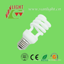Half Spiral T2 15W CFL Bulbs Energy Saving Lamps