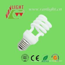 Meia espiral T2 15W CFL lâmpadas lâmpadas economizadoras de energia