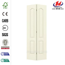 Eyebrow Hollow Core Molded Interior Closet Bi-fold Door
