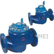 Aufrechte Drehschieber abnehmbare Wasserzähler (LCLC-50-150)