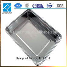 Массовая алюминиевая фольга для одноразовых контейнеров