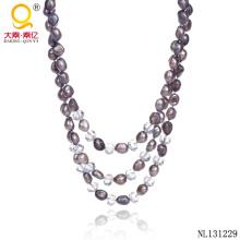 2014 мода ювелирные изделия жемчужное ожерелье конструкций