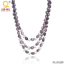 2014 Jewelry Fashion Pearl Necklace Designs