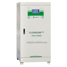 Regulador / estabilizador de la CA Vcoltage sin contacto del microordenador de la serie de Djw / Sjw-200k