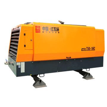 HG750-16C compresor de aire diesel 16bar estacionario