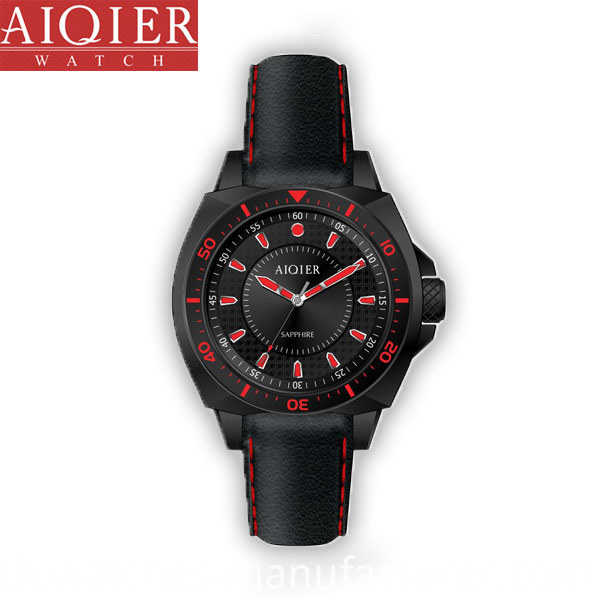 Waterproof sport men watch