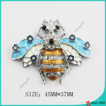 Zinc Alloy Metal Dimond Metal Bee Charm (MPE)