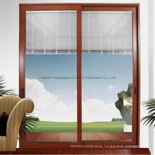Hot Sell Thermally Broken Aluminum Sliding Window with Mosquito Net (FT-W85)