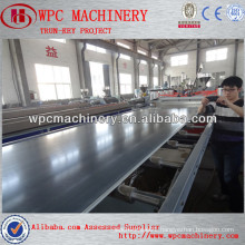 best selling wpc garden decking/fencing/rail/flooring/furniture board extrusion machine/production line