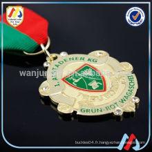 Médaille st gerard en émail personnalisée