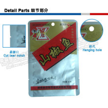 Hot Sale Three Side Plastic Bag