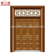 porta de dobradura do projeto da porta do portão principal da casa de kerala
