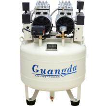 70L 850W*2 Slient Air Compressor Dental Oil Free Air Compressor