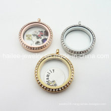 High Quality Stainless Steel 25mm 30mm Floating Locket Pendants