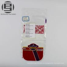 ПВД пластиковые упаковки хлеба мешок с изготовленным на заказ логосом