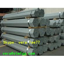 """5.8m 1-1 / 4 """"Sch40 tuyaux en acier au carbone sans soudure galvanisés"""