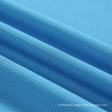 REPREVE soft 100 recycled pet bottle plastic polyester mesh fabric for basketball sportswear t shirt
