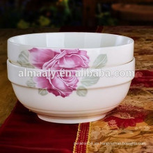 tazón de fuente de porcelana de alta calidad