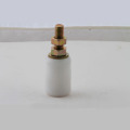White Color Nylon Pulley Nylon Roller with Bulge in The Middle