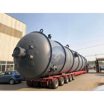 Carbon steel reactors are used in industry
