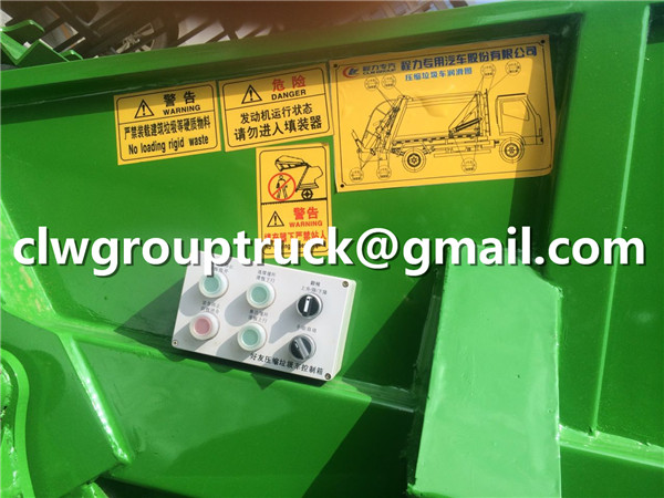 Garbage Truck Operating Instructions Details