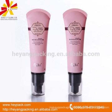 60ml plastic cosmetic pump airless tube