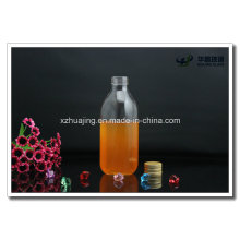 500ml Square Fancy Cooking Oil Glass Bottle with Screw Cap