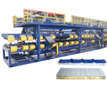 Eps sandwich roof roll forming machine
