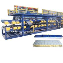 Ligne de production de panneaux de toit en sandwich EPS