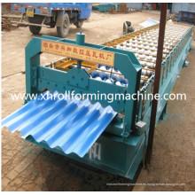 Máquina formadora de rollos en frío de forma corrugada