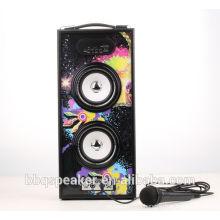 BBQ 20W marquee light karaoke hand free car speaker woofer