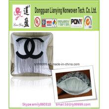 Décor de couverture de coussin de lin en coton à la mode