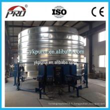 Machine de formage de silo en acier pour le stockage du grain / Machine à former des rouleaux de silo à l'acier