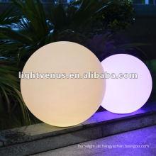 25 cm IP68 Wasserdicht Wiederaufladbare RGB LED Ball Licht