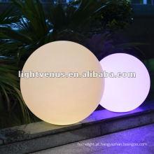 Luz recarregável impermeável da bola do diodo emissor de luz de 25cm IP68 RGB