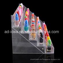 Supermarkt Retal Acryl Ausstellungsstand für Lippenstift