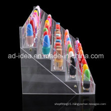 Supermarket Retal Acrylic Exhibition Stand for Lipstick