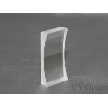 Lente cilíndrica convexa Plano de vidrio Zf11