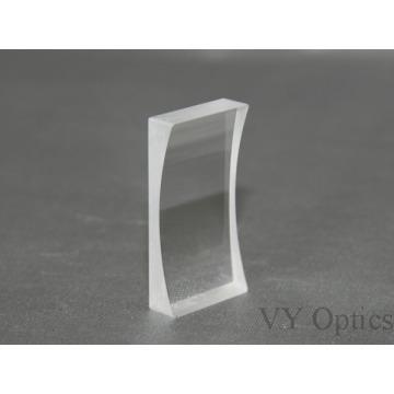 Lente cilíndrica convexa óptica de vidro do plano Zf11