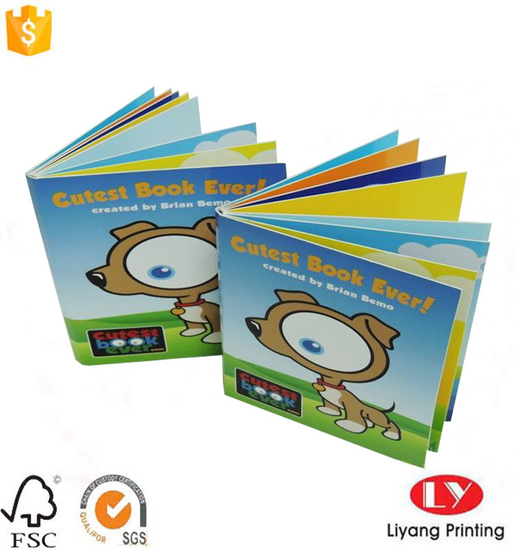 educational children book printing